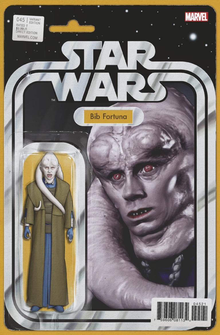Star Wars #45 (Cover B John Tyler Christopher Action Figure Variant)