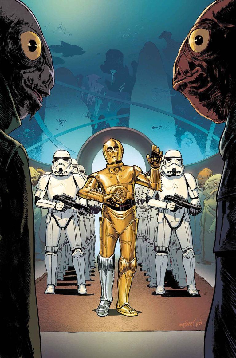Star Wars #46 (Cover A David Marquez)