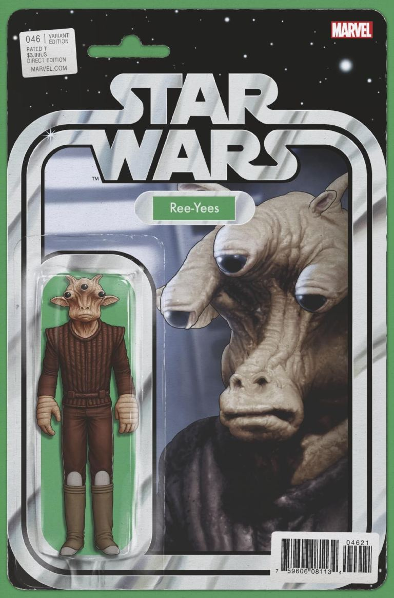 Star Wars #46 (Cover C John Tyler Christopher Action Figure Variant)