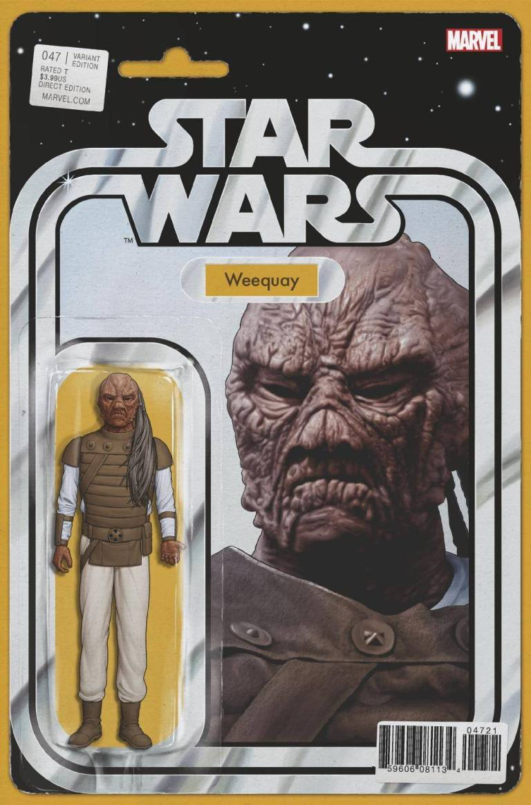 Star Wars #47 (Cover C John Tyler Christopher Action Figure Variant)