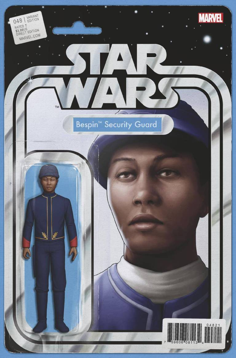 Star Wars #48 (Cover B John Tyler Christopher Action Figure Variant)