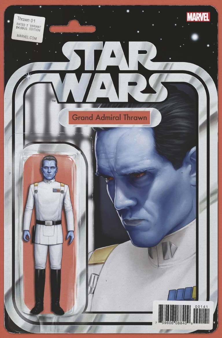 Star Wars Thrawn #1 (Cover C John Tyler Christopher Action Figure Variant)