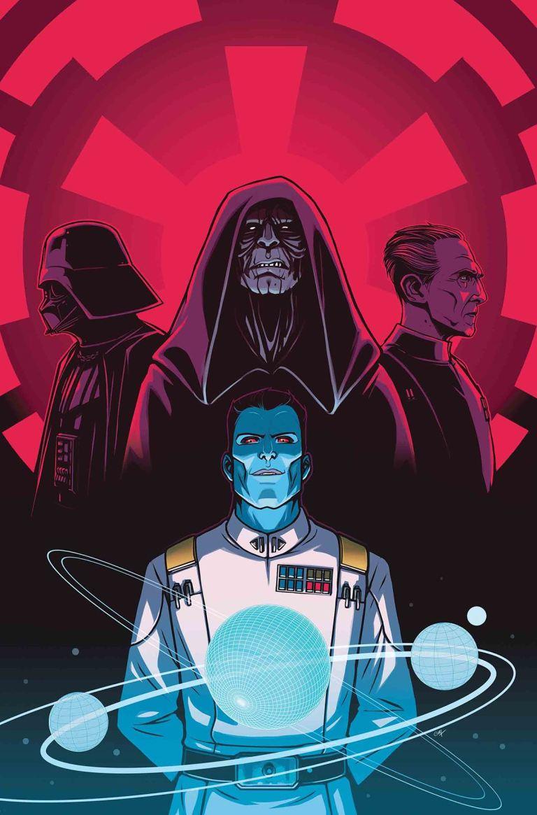 Star Wars Thrawn #4 (Cover B Caspar Wijngaard)