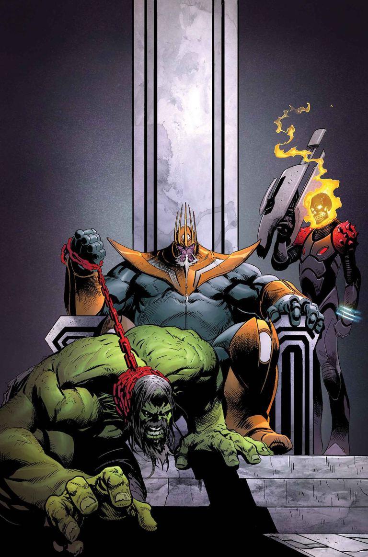 Thanos #15 (Geoffrey Shaw Cover)