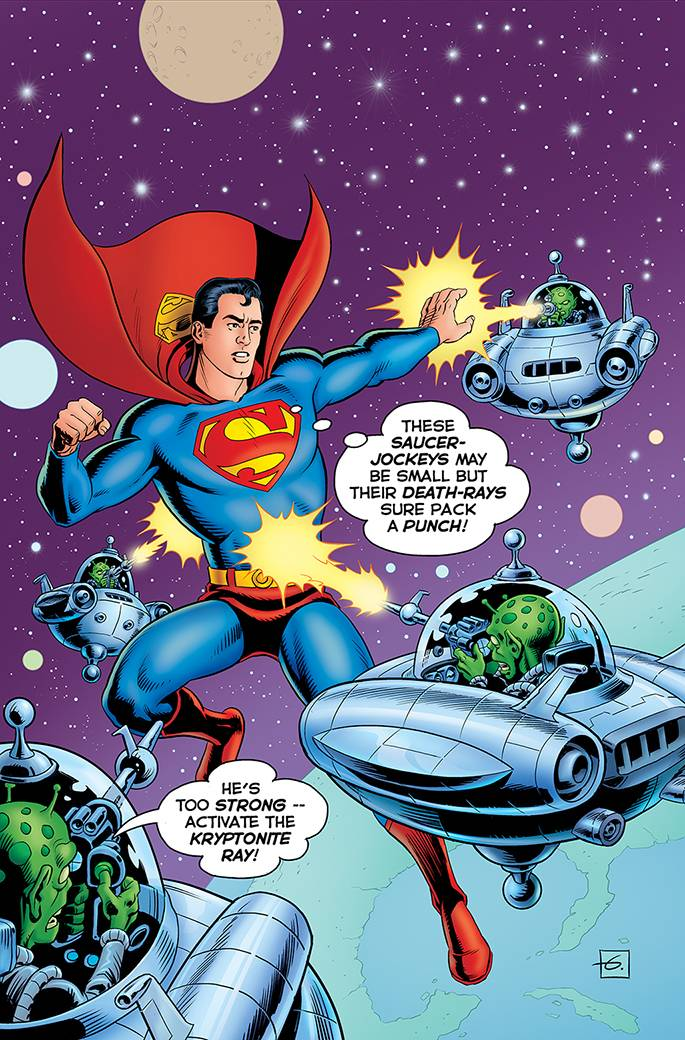 Action Comics #1000 (Cover D Dave Gibbons 1950s Variant)
