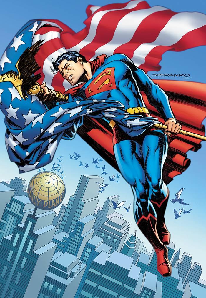 Action Comics #1000 (Cover F Jim Steranko 1970s Variant)
