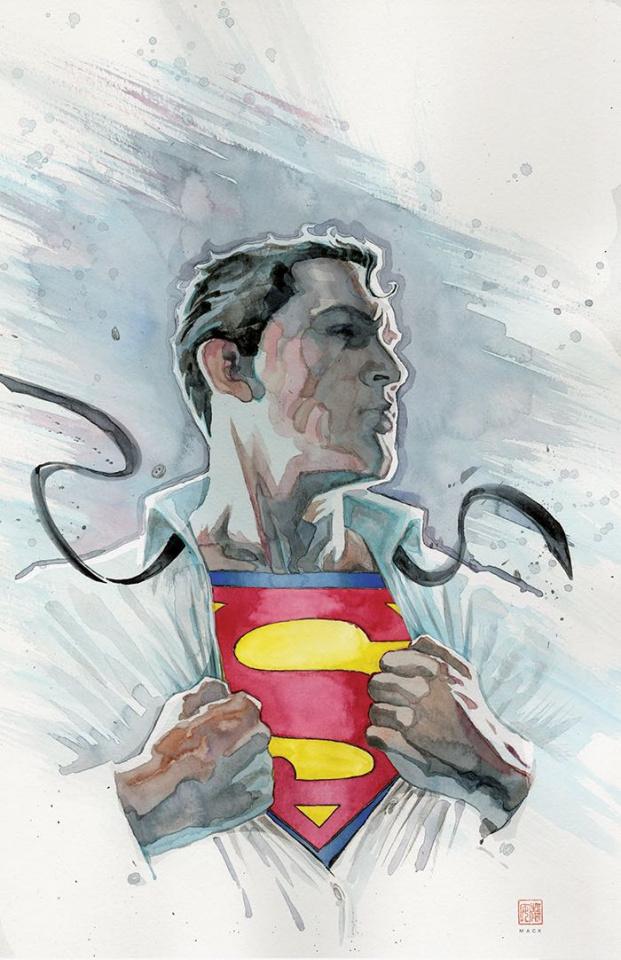 Action Comics #1001 (Cover C David Mack)
