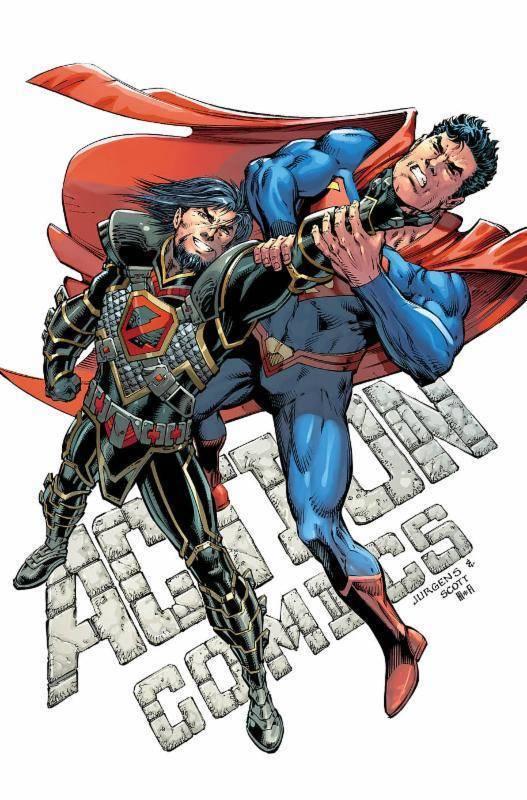 Action Comics #996 (Cover A Dan Jurgens & Trevor Scott)