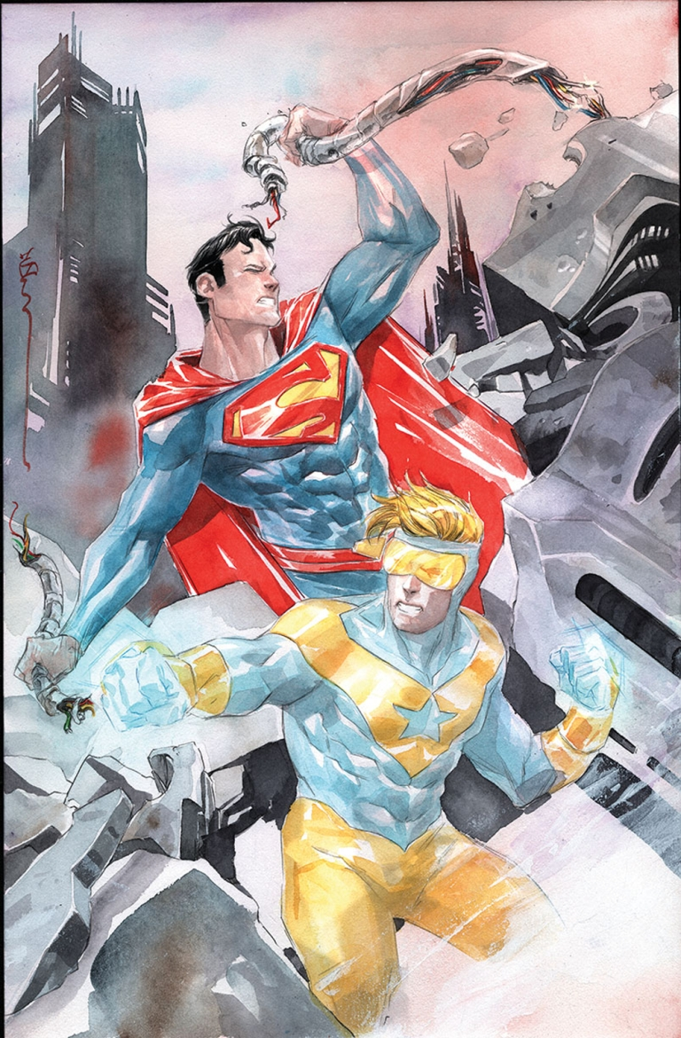 Action Comics #996 (Cover B Dustin Nguyen)