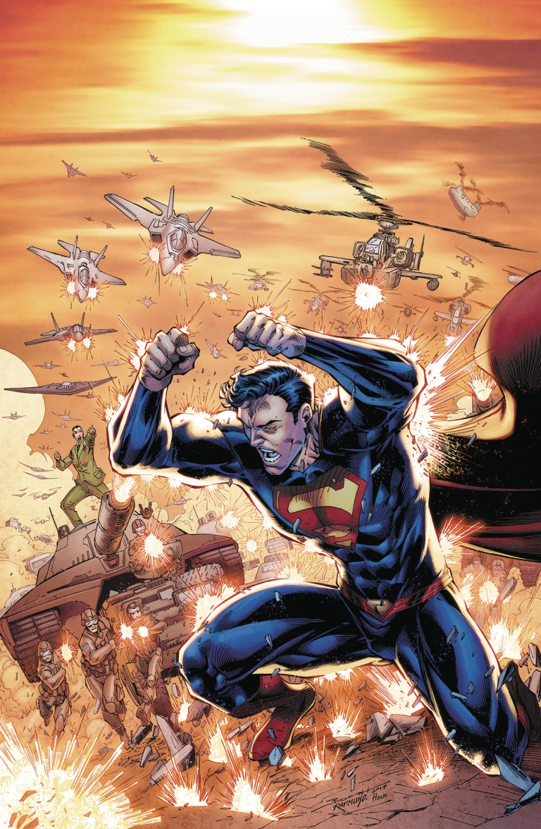Action Comics #999 (Cover A Brett Booth & Norm Rapmund)