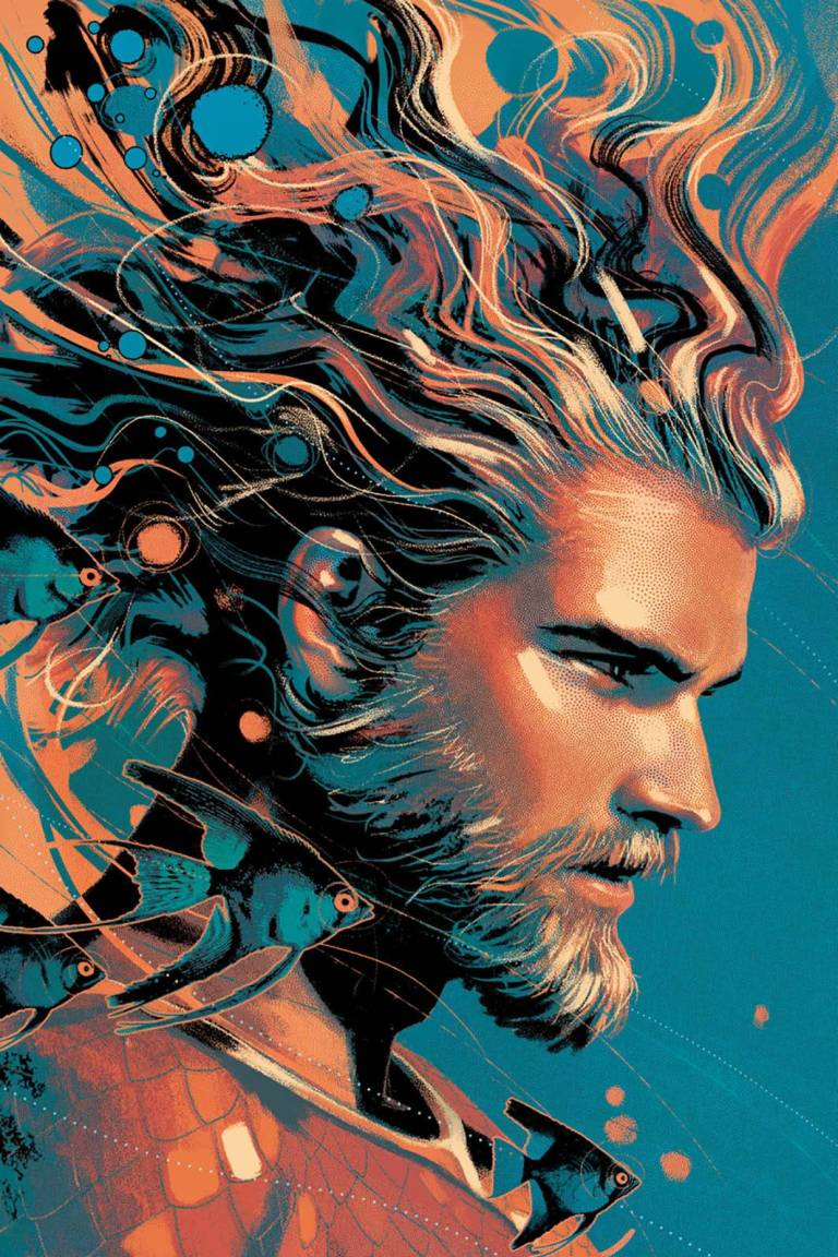 Aquaman #33 (Cover B Joshua Middleton)