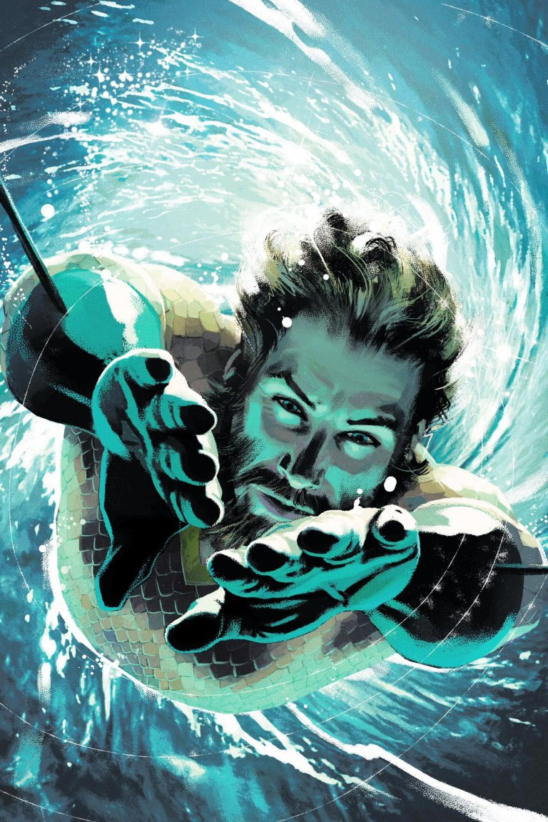 Aquaman #35 (Cover B Joshua Middleton)