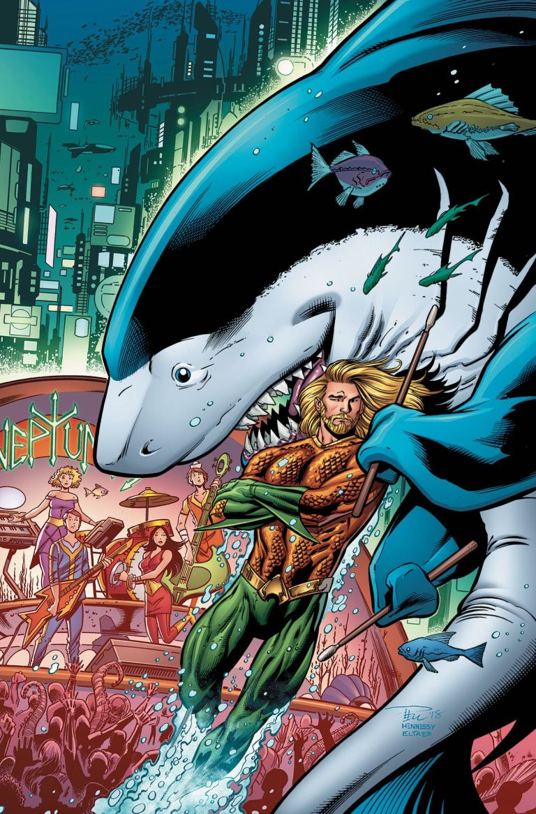 Aquaman Jabberjaw Special #1 (Cover A Paul Pelletier & Andrew Hennessy)