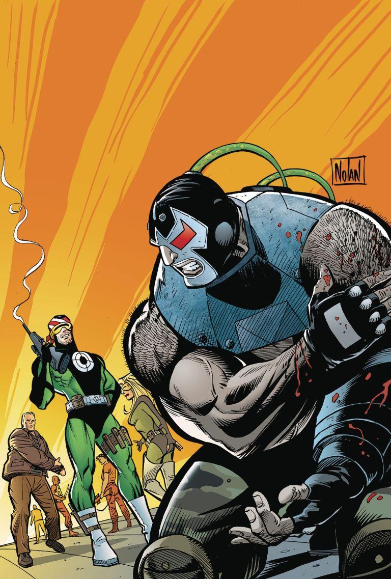 Bane Conquest #10 (Graham Nolan Cover)