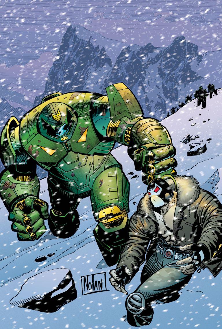 Bane Conquest #11 (Graham Nolan Cover)