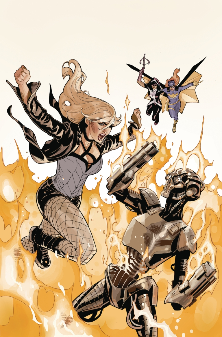 Batgirl And The Birds Of Prey #21 (Cover A Terry Dodson & Rachel Dodson)