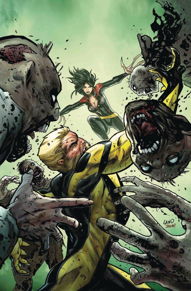 Hunt For Wolverine Claws Of A Killer #2 (Cover A Greg Land)