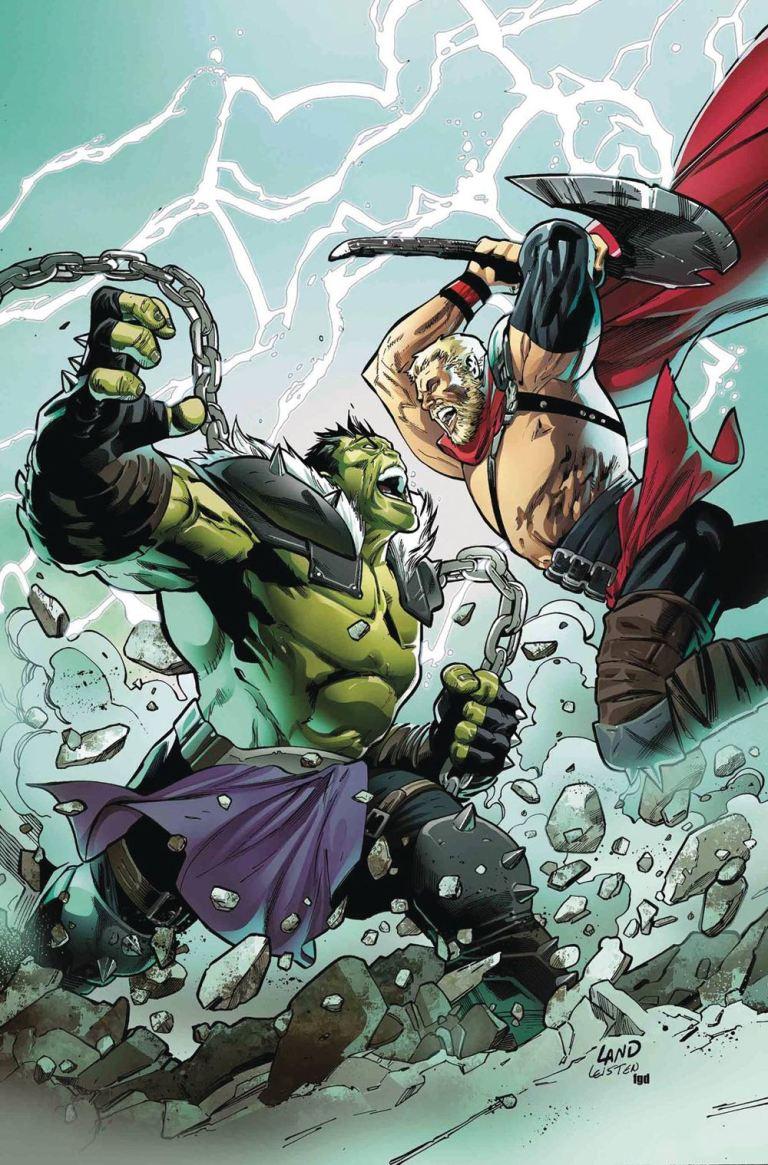 Incredible Hulk #712 (Cover A Greg Land)