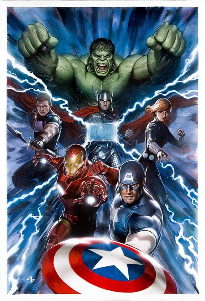 Incredible Hulk #712 (Cover B Adi Granov Avengers Variant)