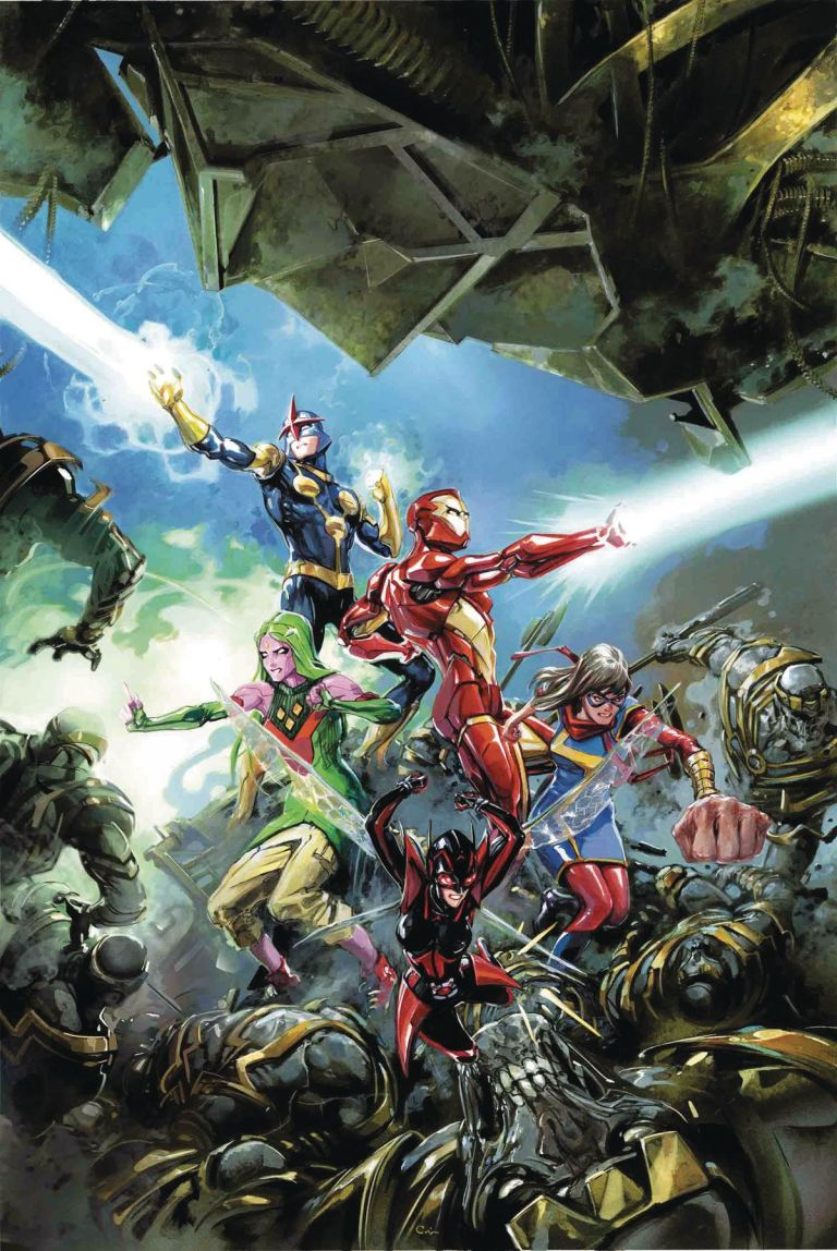 Infinity Countdown Champions #1 (Cover A Clayton Crain)