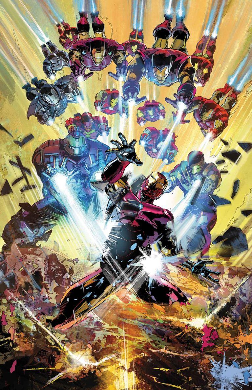 Invincible Iron Man #596 (Cover A Mike Deodato)