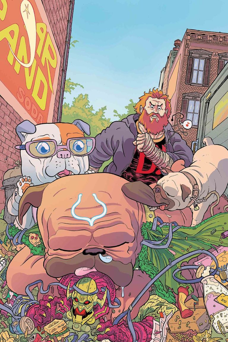 Lockjaw #4 (Cover A Ulises Farinas)