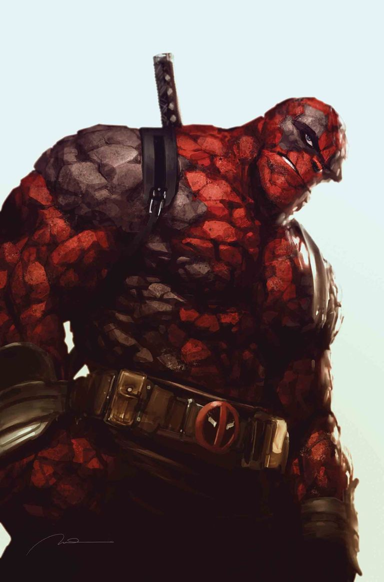Marvel Two-In-One #6 (Cover B Gerald Parel Deadpool Variant)