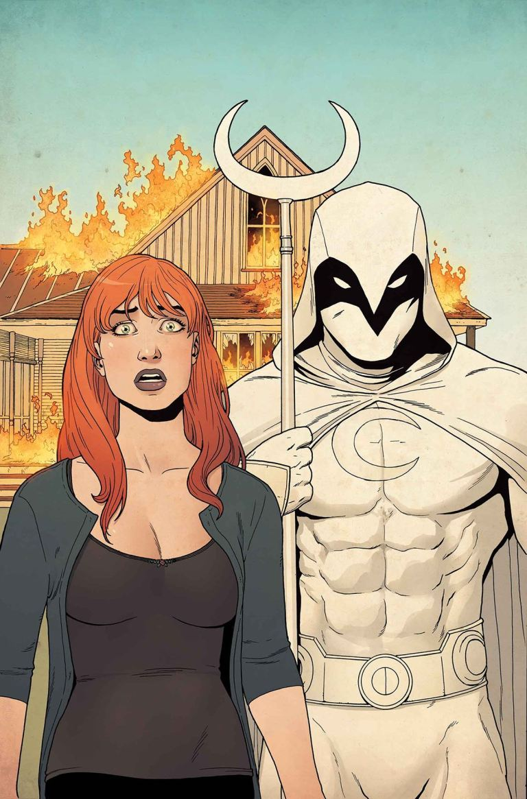 Moon Knight #191 (Jacen Burrows Cover)