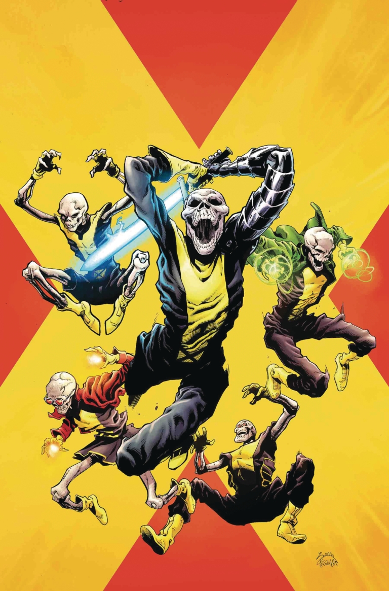 New Mutants Dead Souls #4 (Ryan Stegman Cover)