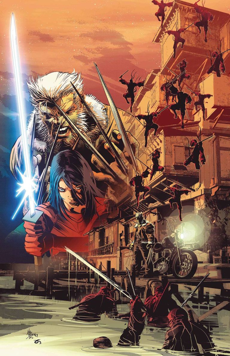 Old Man Logan #34 (Mike Deodato Jr. Cover)