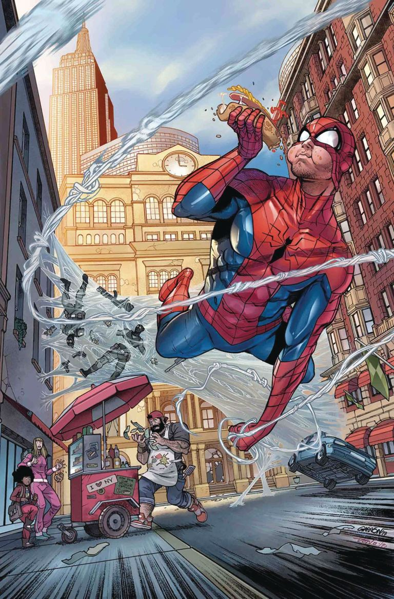 Peter Parker The Spectacular Spider-Man Annual #1 (Cover B Javier Garron)