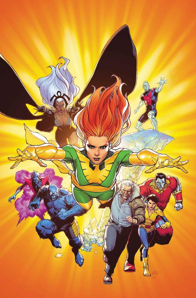 Phoenix Resurrection The Return Of Jean Grey #5 (Cover A Leinil Francis Yu)