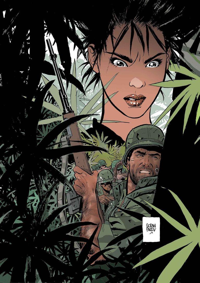 Punisher The Platoon #5 (Goran Parlov Cover)