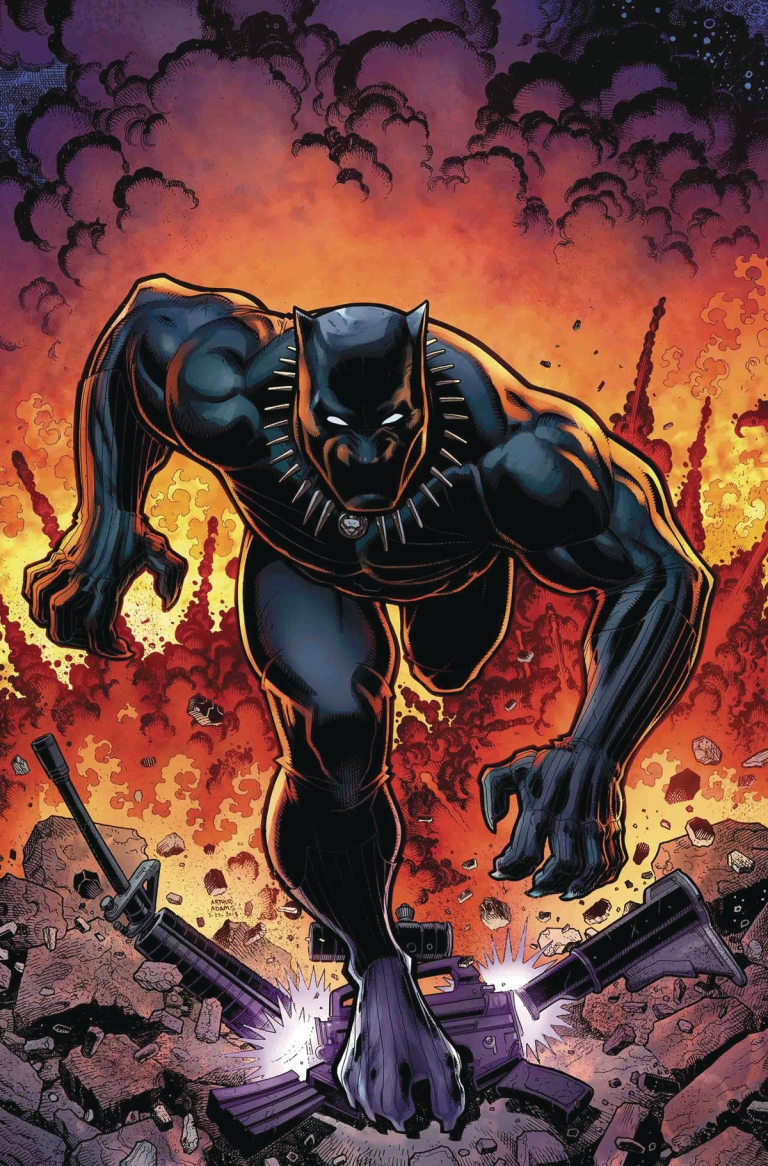 Rise Of The Black Panther #6 (Cover B Arthur Adams)