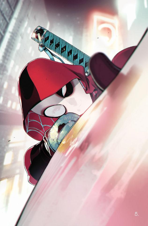 Spider-Gwen #32 (Cover B Bengal Deadpool Variant)