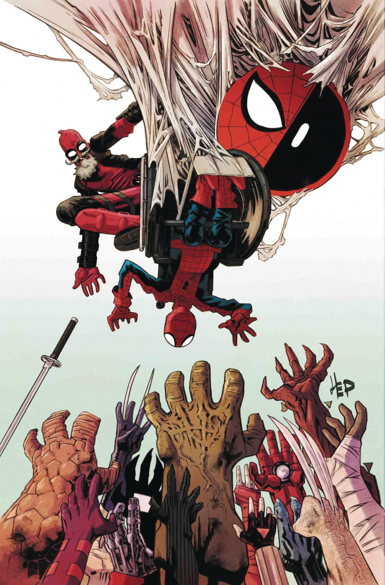 Spider-Man Deadpool #34 (Chris Bachalo Cover)
