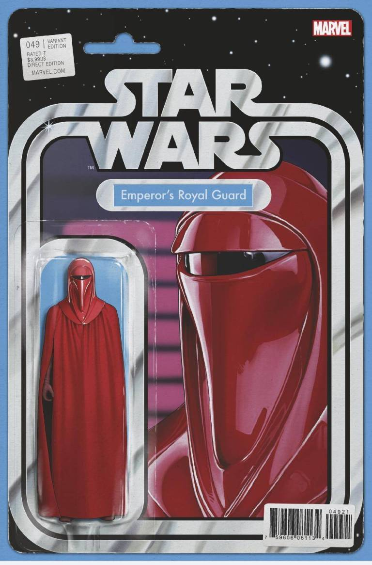 Star Wars #49 (Cover B John Tyler Christopher Action Figure Variant)