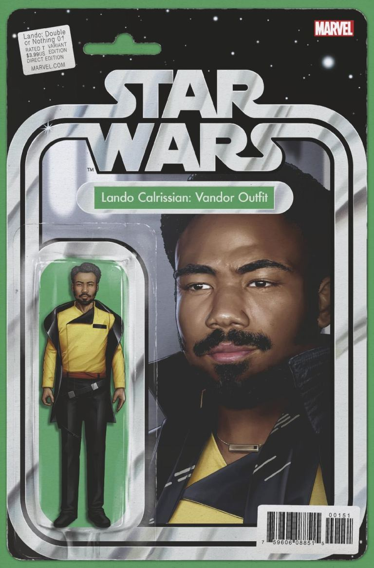 Star Wars Lando Double Or Nothing #1 (Cover C John Tyler Christopher Action Figure Variant)