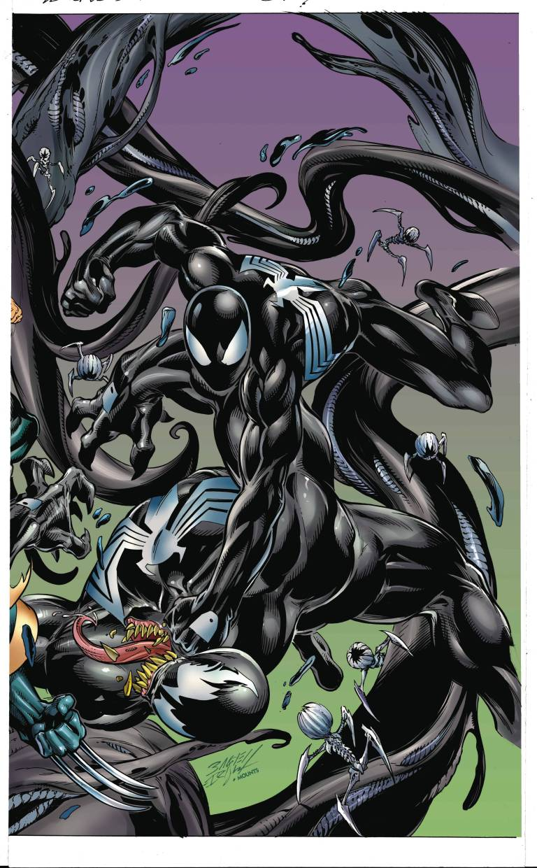Venomized #2 (Cover C Mark Bagley Connecting Variant B)