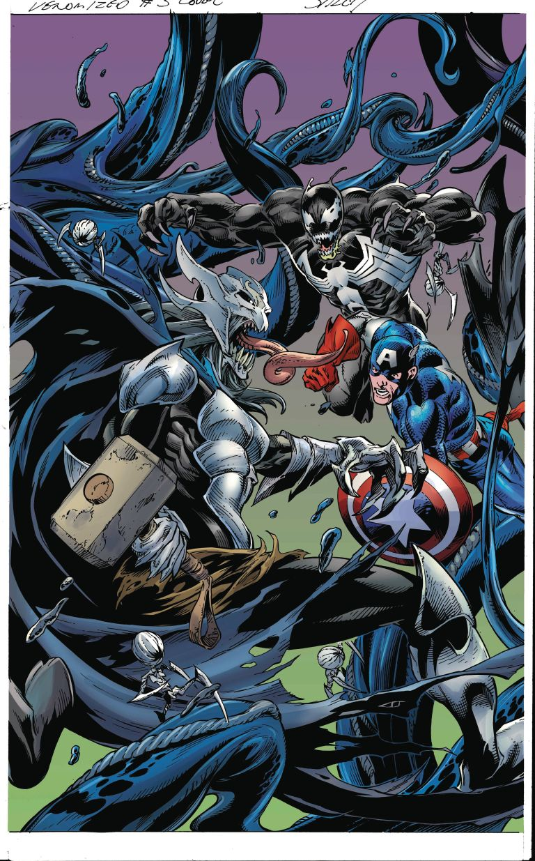 Venomized #3 (Cover C Mark Bagley Connecting Variant C)