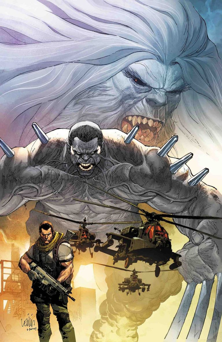 Weapon H #1 (Cover A Leinil Francis Yu)