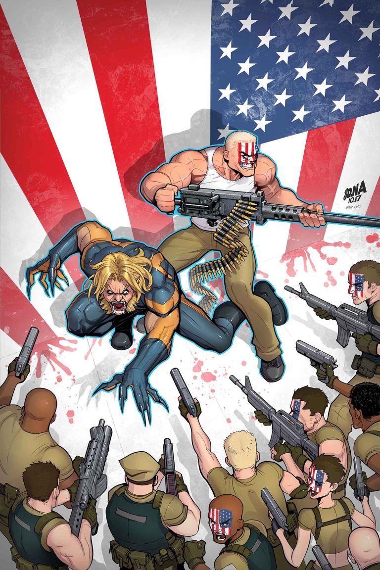 Weapon X #13 (David Nakayama Cover)