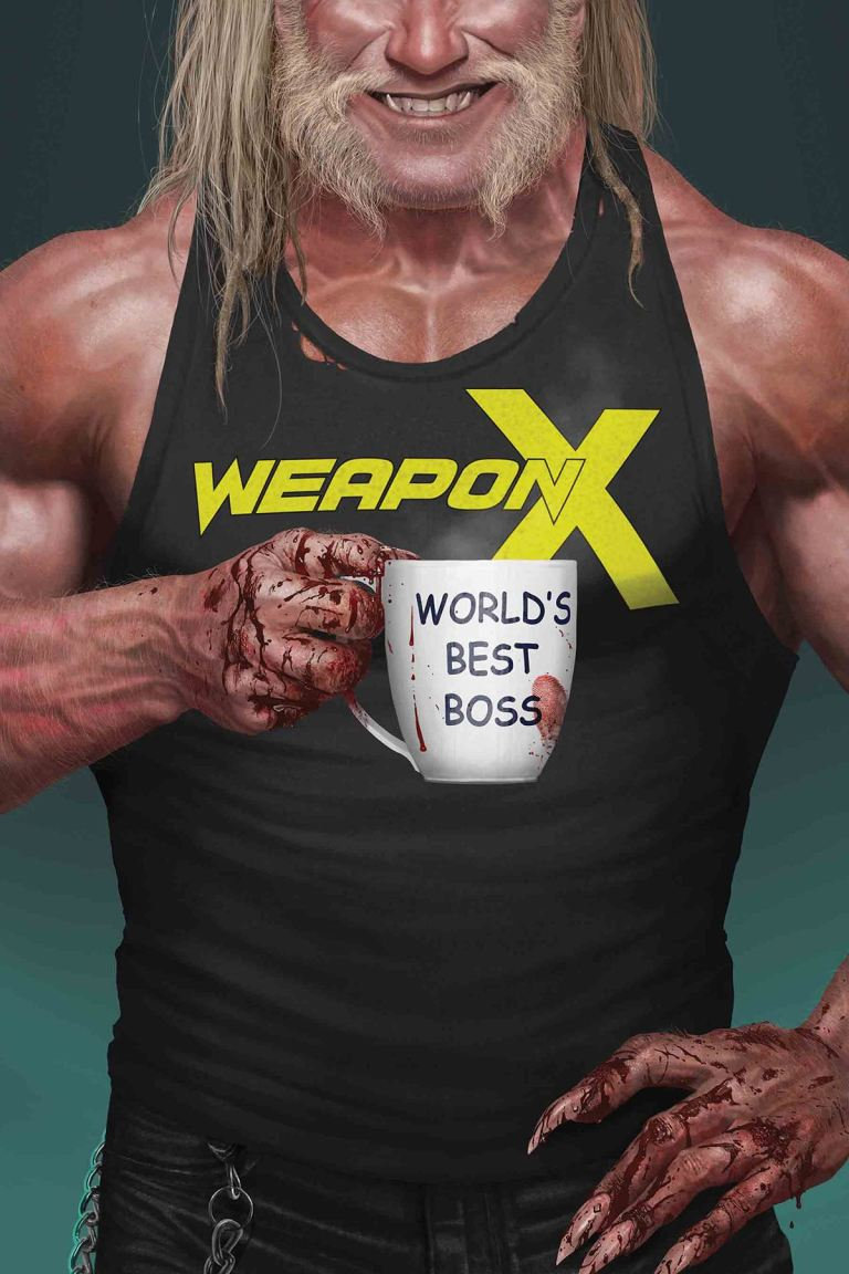 Weapon X #17 (Rahzzah Cover)