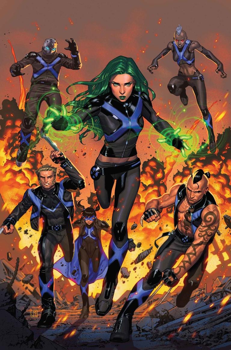 X-Men Blue #25 (Cover A Jorge Molina)