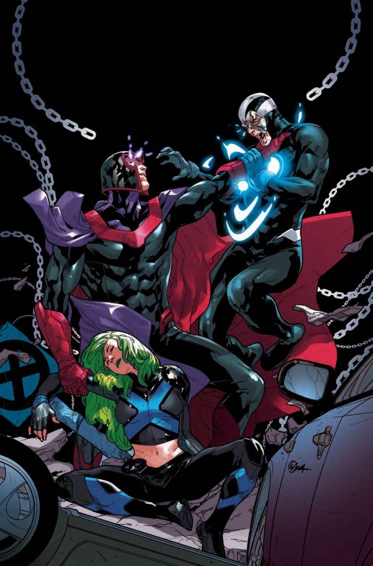 X-Men Blue #28 (R.B. Silva Cover)