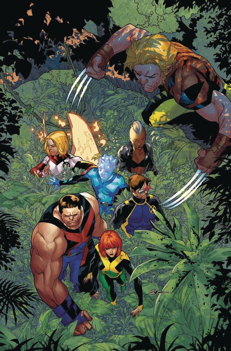 X-Men Blue #29 (Jorge Molina Cover)