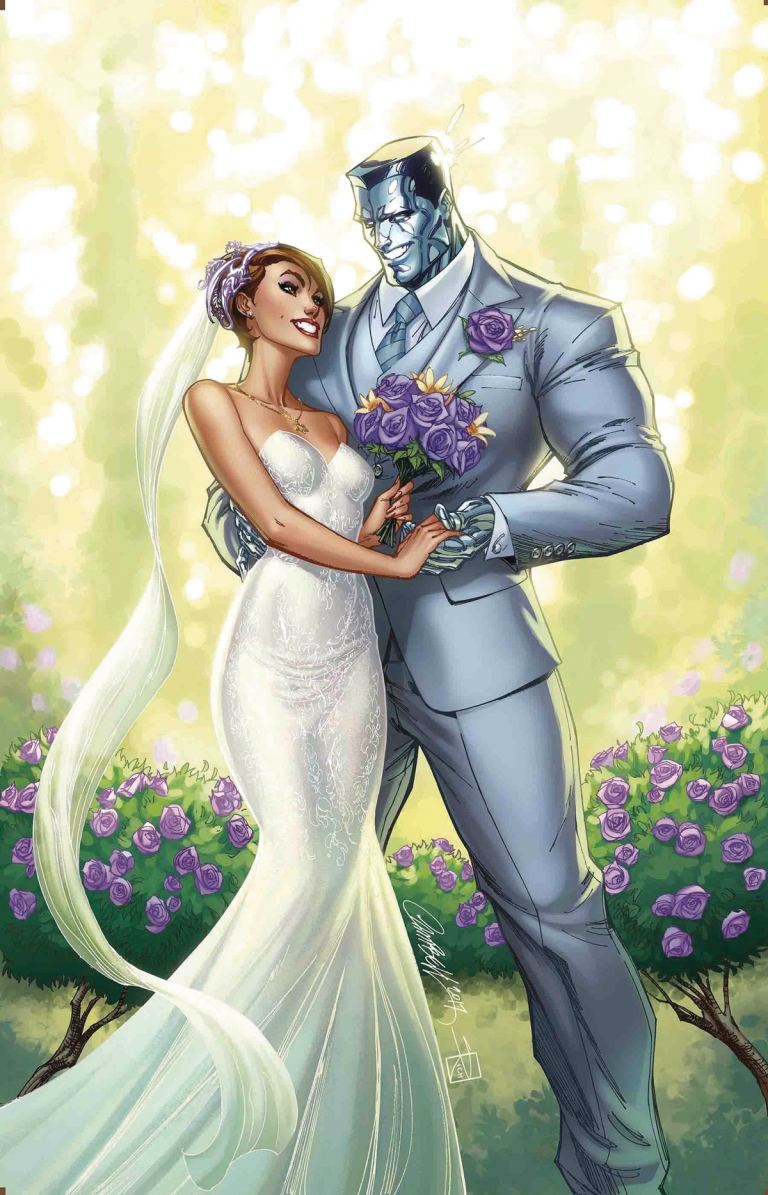 X-Men Gold #30 (Cover D J. Scott Campbell Kitty And Colossus Variant)