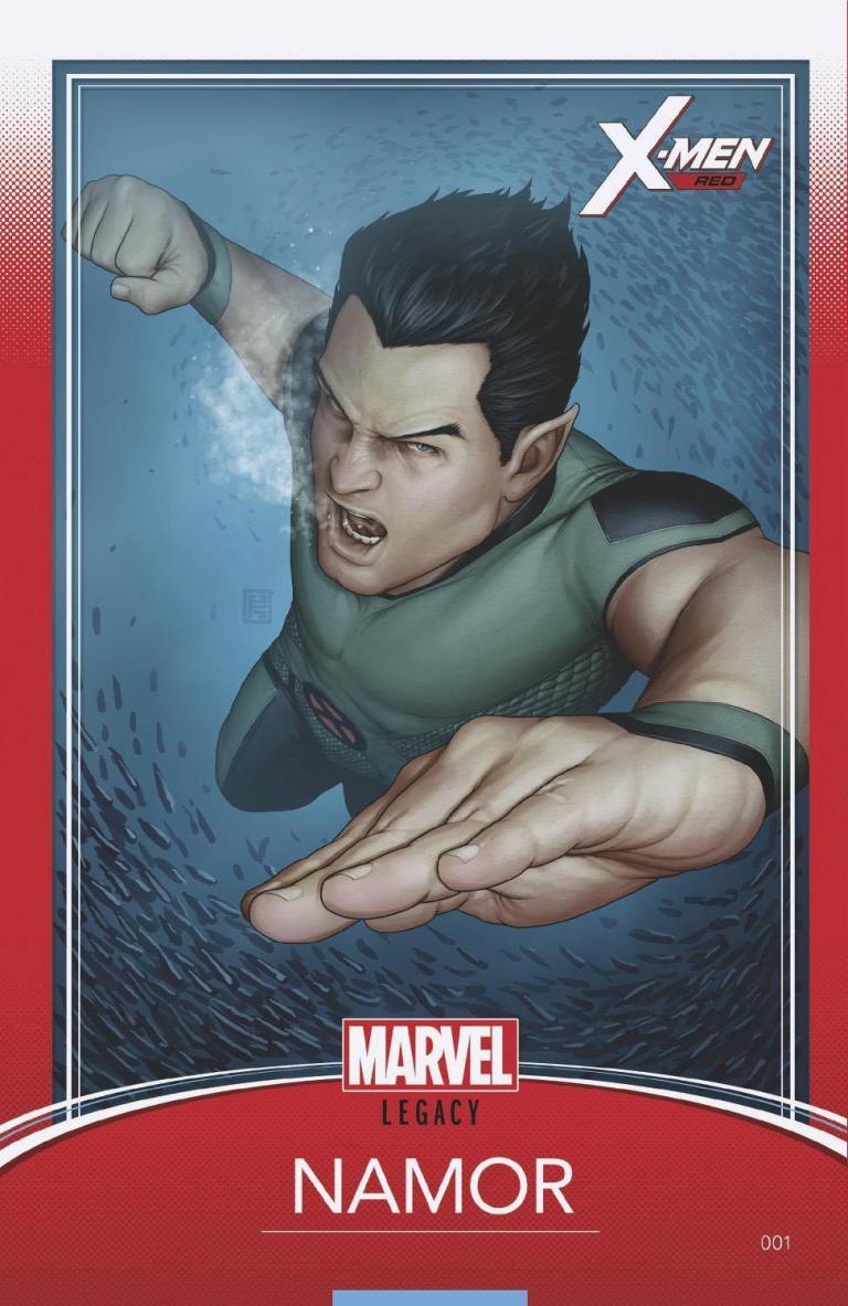X-Men Red #1 (Cover I John Tyler Christopher Trading Card Variant)