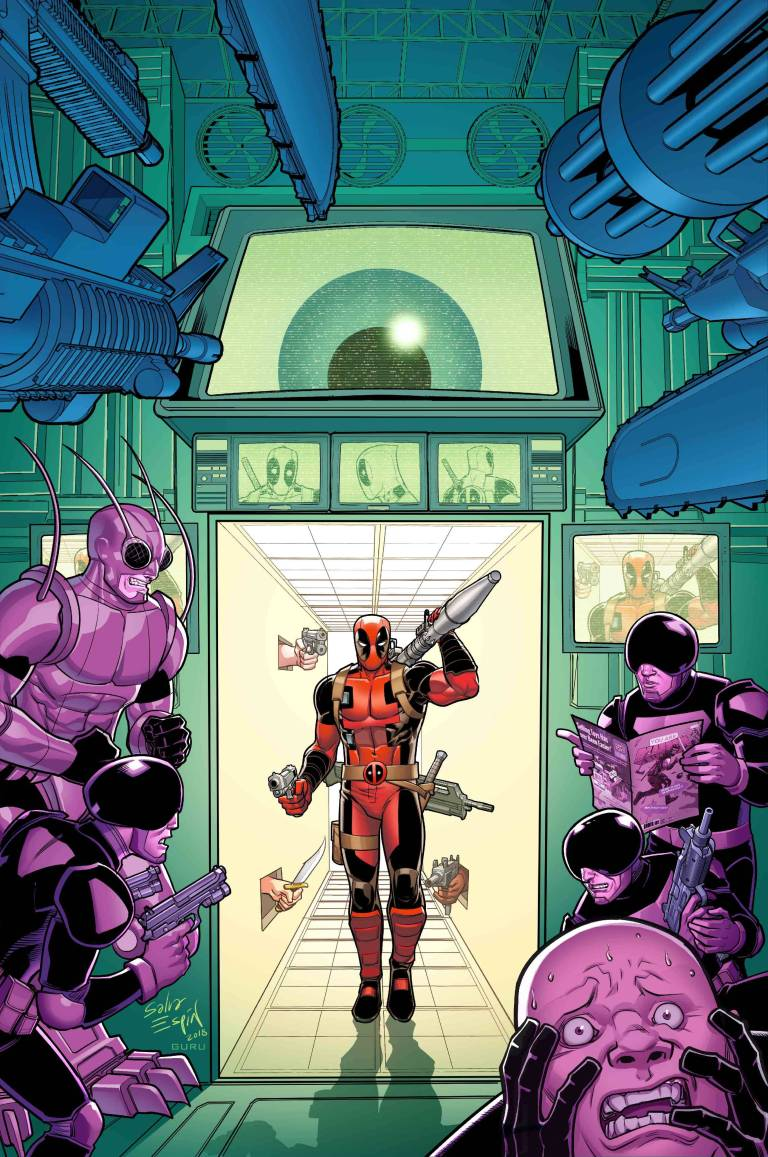 You Are Deadpool #1 (Cover C Salva Espin RPG Variant)