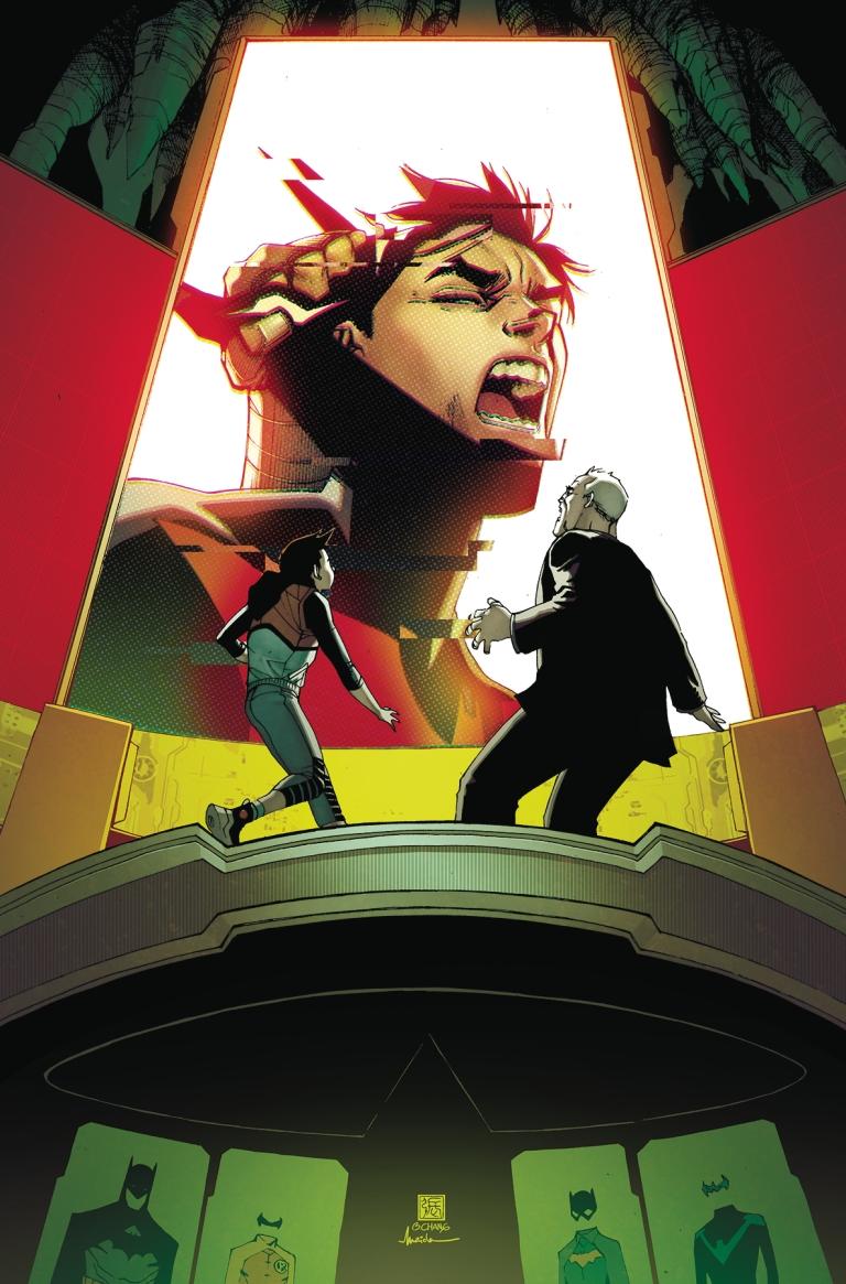 Batman Beyond #17 (Cover A Bernard Chang)